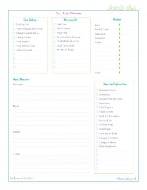 free printable, home management binder, famliy section, check list