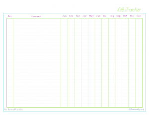 free printable, home management binder, finances