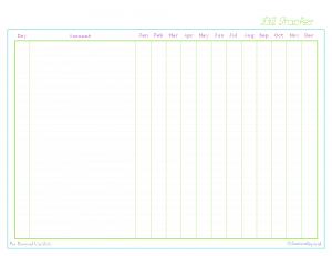 free printable, home management binder, finances