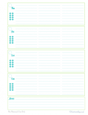 free printable, time management, weekly planner, to do list, agenda