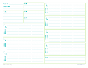 Printable Planner Pages Cablo Commongroundsapex Co