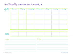 free printable, time management, weekly planner, to do list, agenda, meal planner
