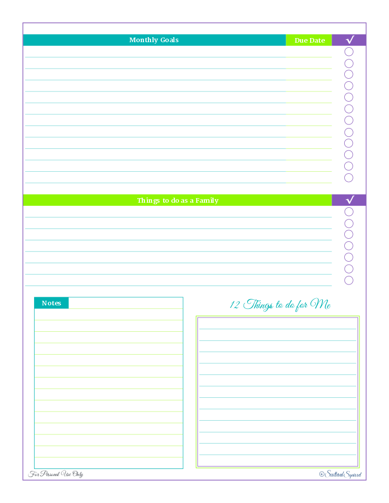 free printable, time management, goal setting,to do list