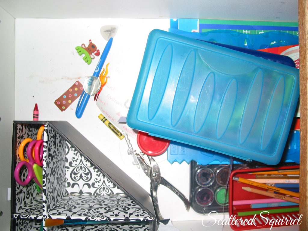 craft drawer mess
