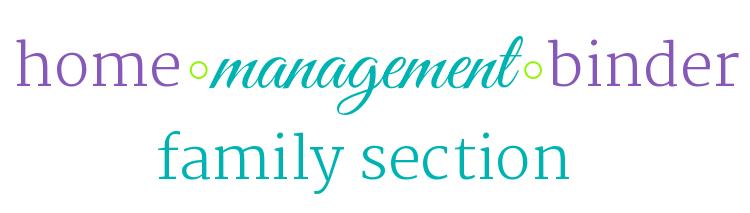 HMB: Family Section