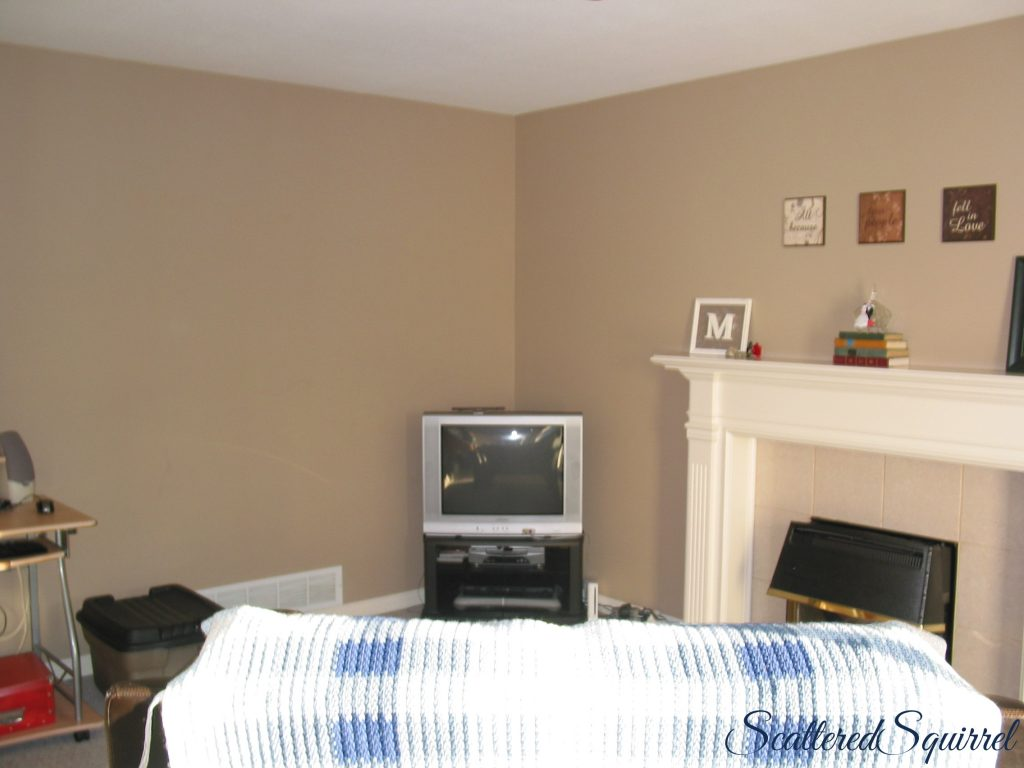 family room after pics, no more overflow of toys
