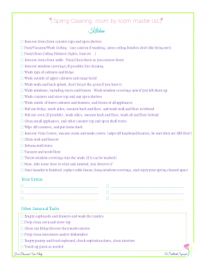 home management free printables