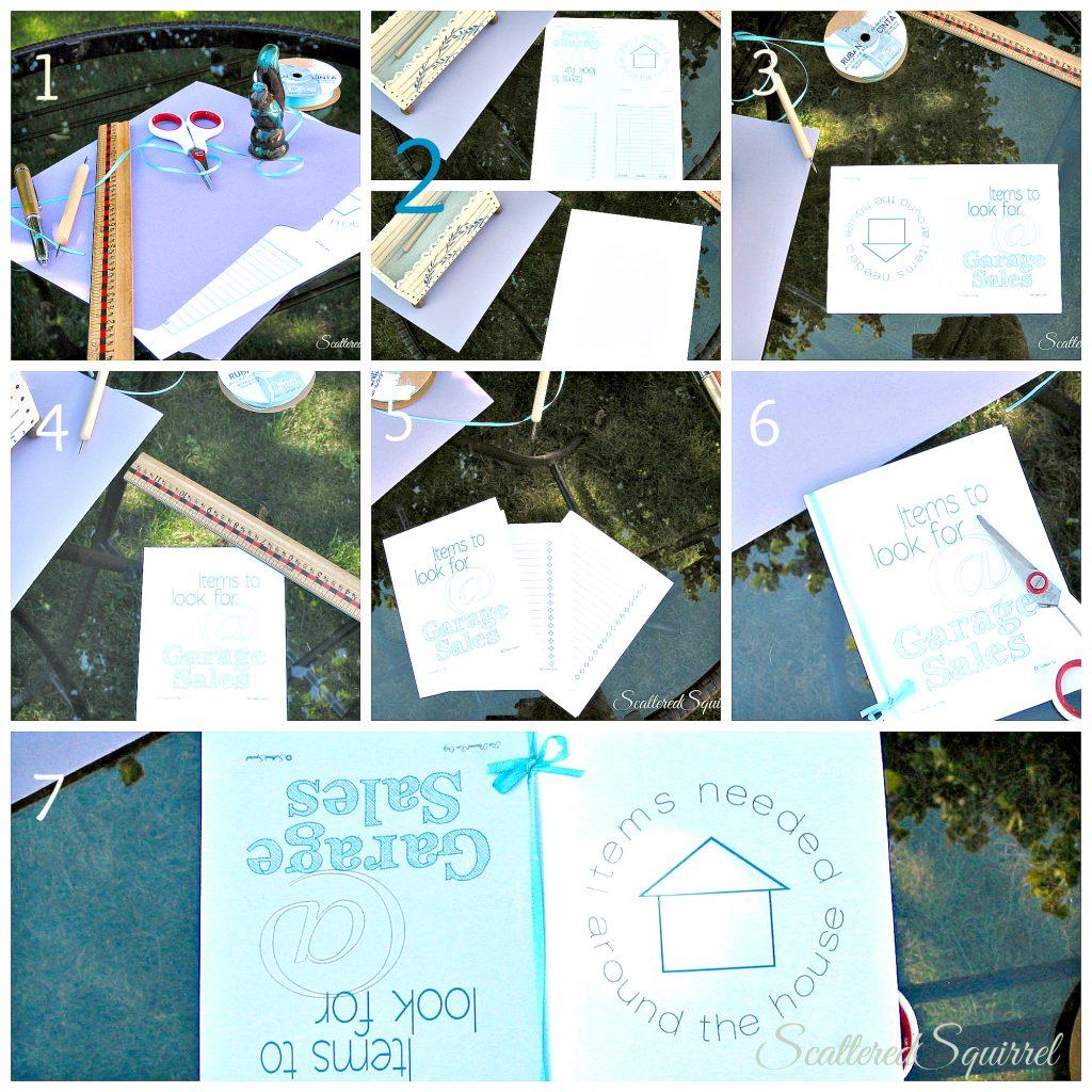 DIY 2-in-1 notebook | ScatteredSquirrel.com