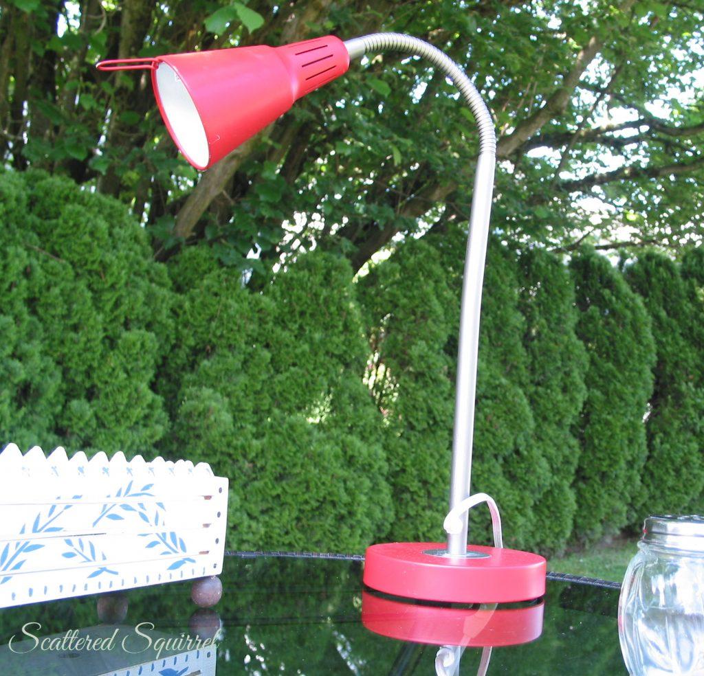 Red Lamp | ScatteredSquirrel.com