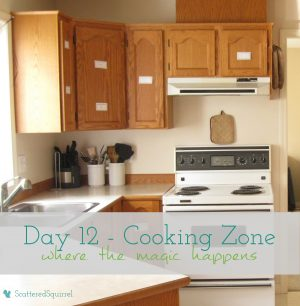 Day 12 of 31 days to a Clean and Organized Kitchen: ScatteredSquirrel.com