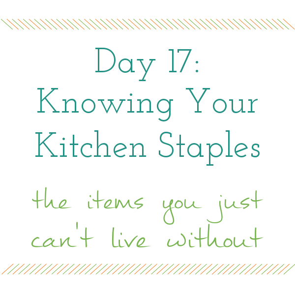 Day 17 of 31 days to a Clean and Organized Kitchen: ScatteredSquirrel.com