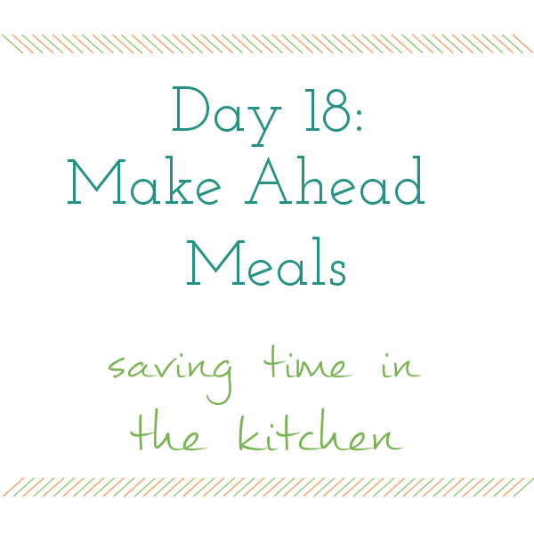 Day 18 of 31 days to a Clean and Organized Kitchen: ScatteredSquirrel.com