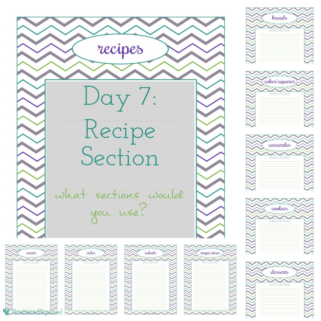 Day 7 of the 31 Days to a Clean and Organized Kitchen series from ScatteredSquirrel.com