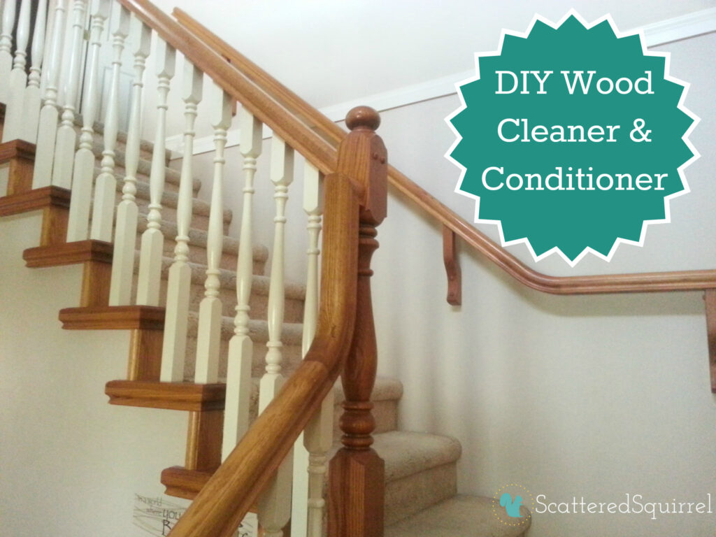 DIY Wood Cleaner and Conditioner | ScatteredSquirrel.com