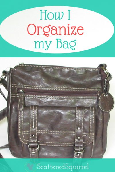 And organized bag means can make a huge difference when you're out and about, here's how I organize mine. |ScatteredSquirrel.com