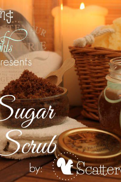 Spa Recipe Guest Post, Easy Sugar Body Scrub