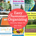 Round up of summer time ideas for kid activities | Scattered Squirrel