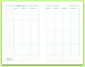 Pretty In Pastel Planner Printables