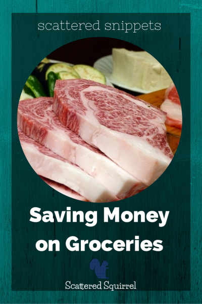 One way we're saving money on groceries.