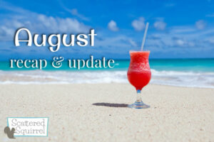 What happened around the blog this month, and some thoughts and ideas for next month.