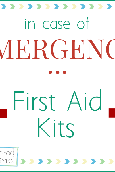 The first small step in being prepared for an emergency is to put together a first aid kit for you home.