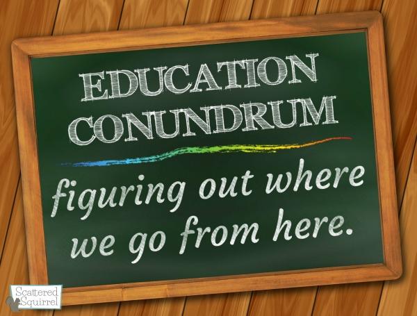 education conundrum sm