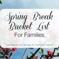 Spring break is a great time for family fun. This spring break bucket list is a great place to start!
