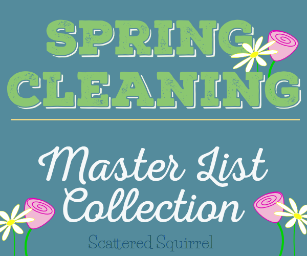 All the Spring Cleaning master list printables in one handy package.