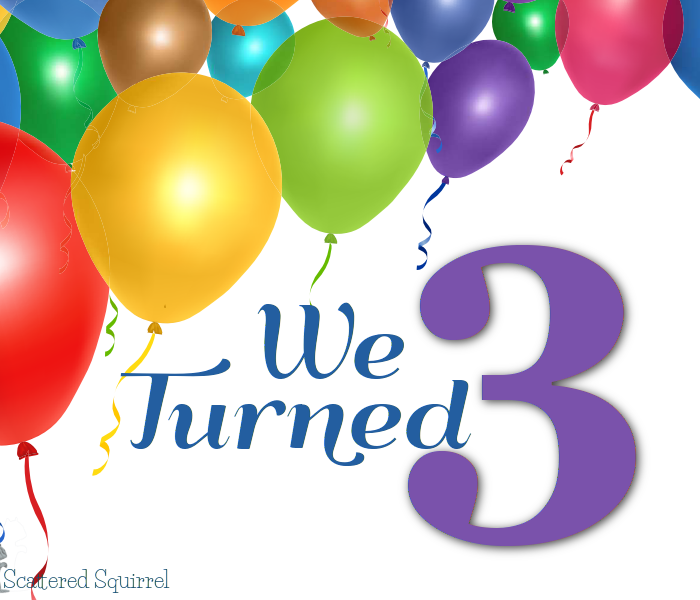 We Turned Three!!!!