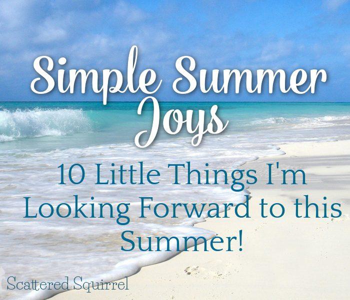Simple Summer Joys