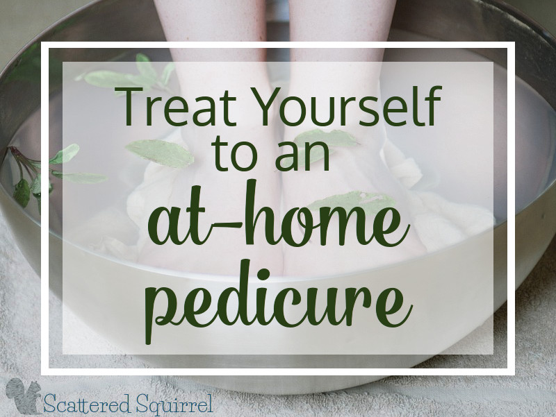 Treat Yourself to an At Home Pedicure