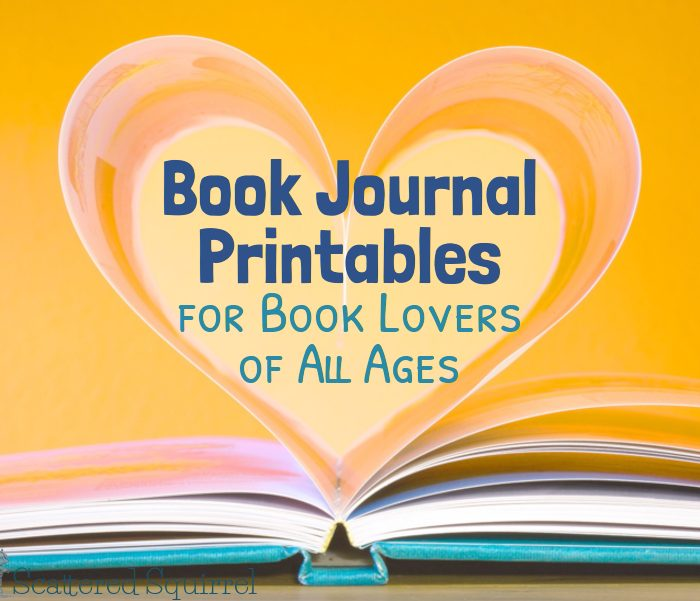 Book Journal Printables for Book Lovers of All Ages