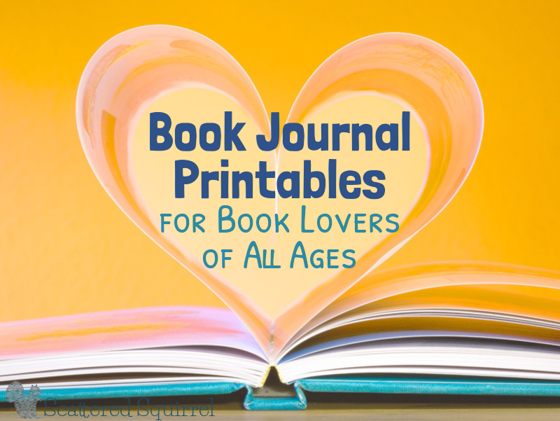 Use these book journal printables to help tell bring the story out of the book.
