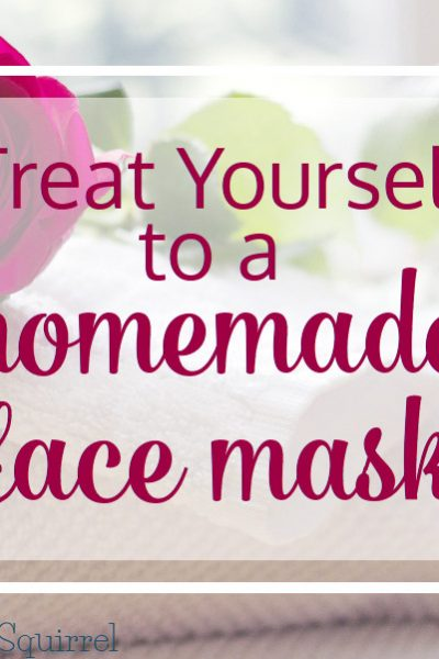 Taking time for you can be as simple as treating yourself to a homemade face mask. It's an easy treat you're sure to enjoy.