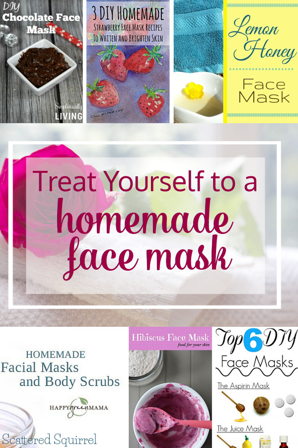 Taking time for you can be as simple as treating yourself to a homemade face mask. Add to your regular self-care routine and make it a recurring treat because you deserve it!