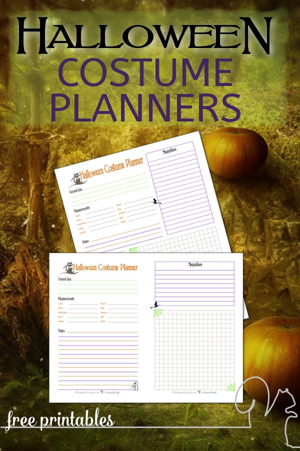 Homemade Halloween costumes are so much fun, but they can be a lot of work to create. The Halloween Costume Planner Printable is a great place to keep all those important costume details.