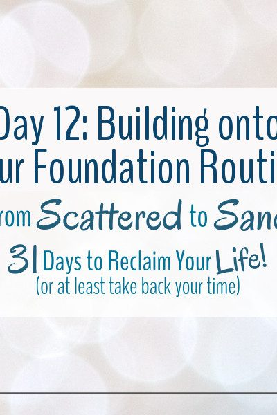 Time to start building onto your foundation routine so that it can become a little more well rounded
