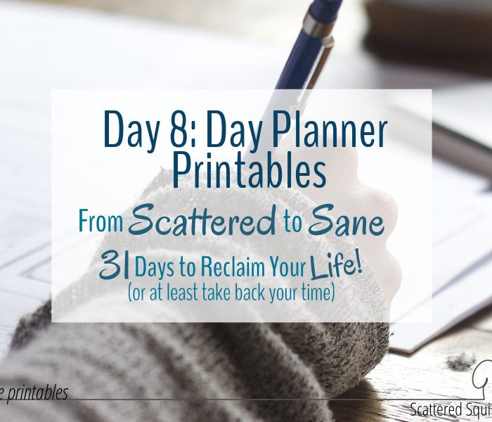 New Day Planner Printables to Help You Plan Your Days