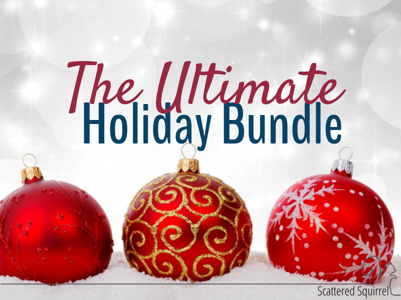 The Secret is Out!!!  Welcome to the Ultimate Holiday Bundle of Printables!!!!