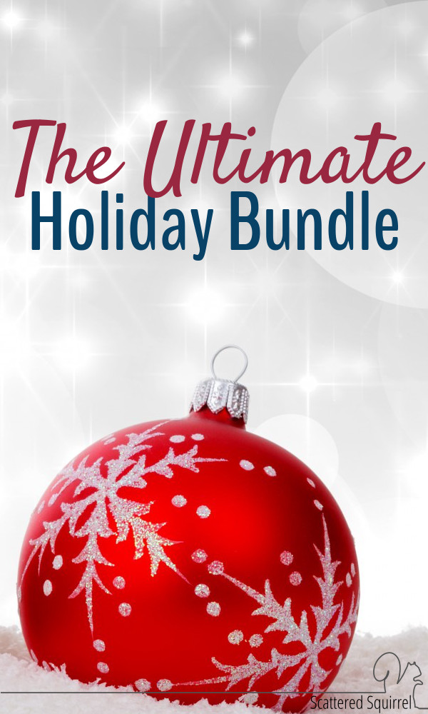 The Ultimate Holiday Bundle - over 200 printables in this fantastic bundle for an insanely low price!!!