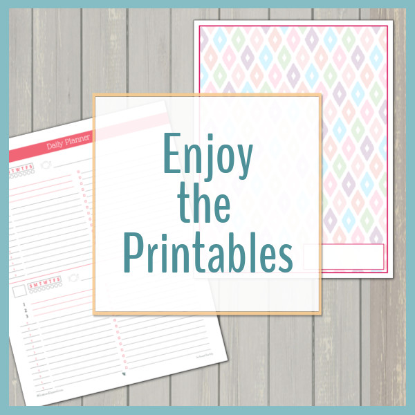 graphic regarding Free Organization Printables for College Students referred to as Absolutely free Printables - Scattered Squirrel