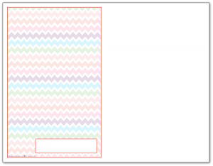 Half-Size Summer Orange Zigzag Pattern Printable 2016 Planner Cover Page