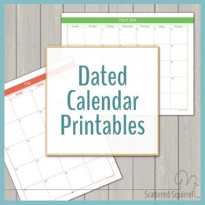 Dated Calendars