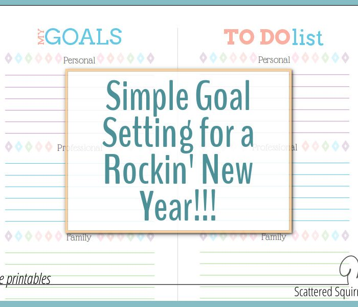 Simple Goal Setting for a Rockin' New Year