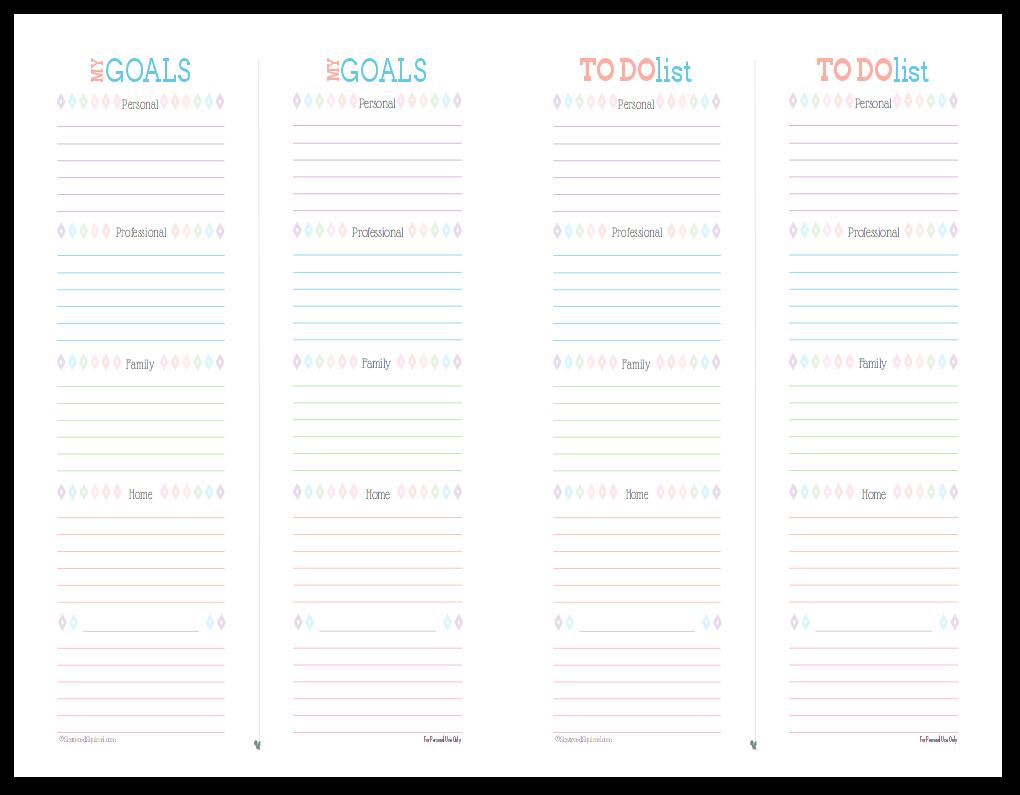 list of professional goals