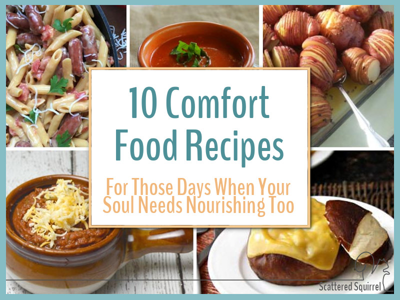Fuel your body and feed your soul with this collection of 10 comfort food recipes. Make your meal planning a breeze
