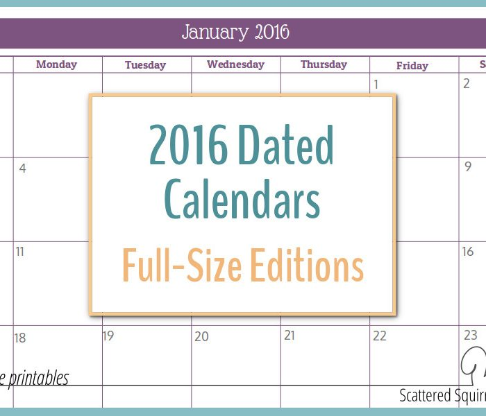 Printable Calendars Monthly Planner/page/2 | Calendar Template 2016