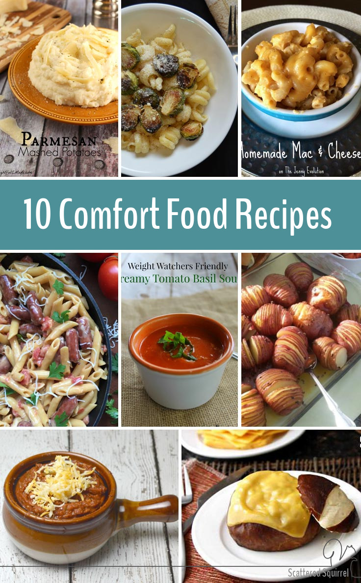 Comfort food is the best kind of food. This collection of comfort food recipes is going to get a lot of use from me.