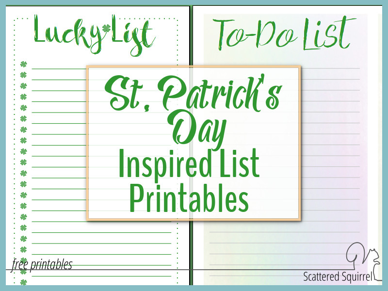 Have some fun with your to do list by using pretty list paper
