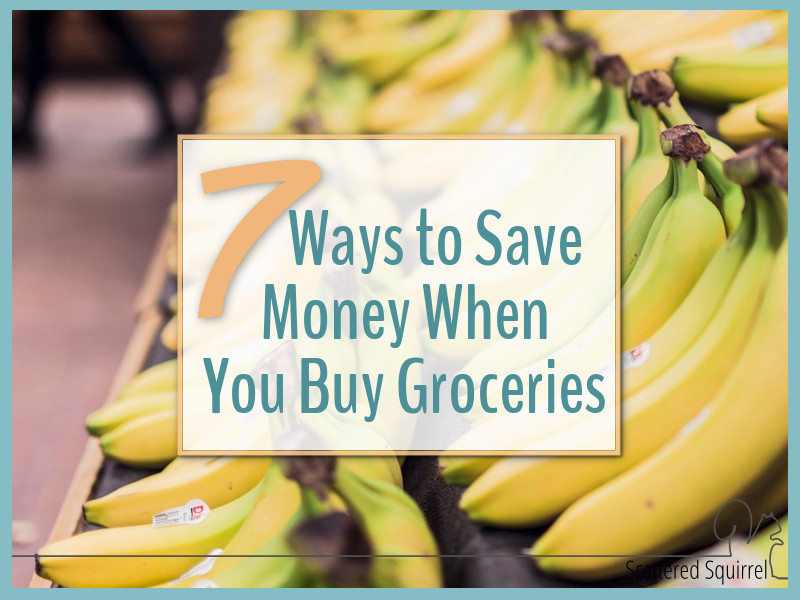 We all have to eat, but that doesn't mean we need to break the bank to do it. Here are seven tips to save money at the grocery store.